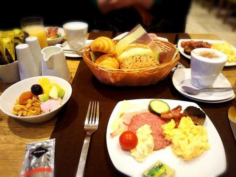 優雅な朝食