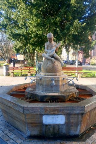 鉱泉の水1
