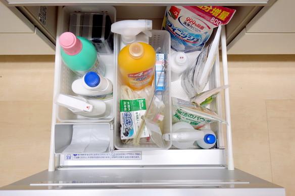 キッチン・食洗機下引出し・掃除用品①