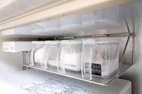 パモウナ・オープン部分・食洗機洗剤①
