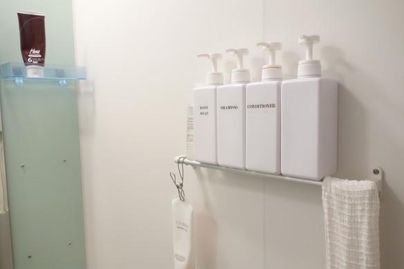 浴室・タオルバー収納①