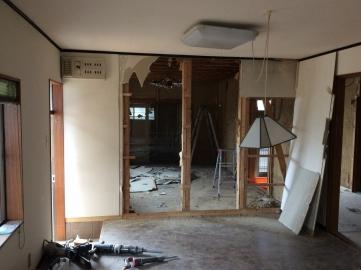 中島邸解体1