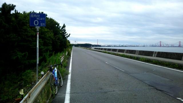 9月17日 庄内川河口