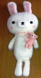 羊毛うさぎとくま2
