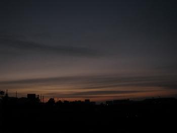11/26 夜明け