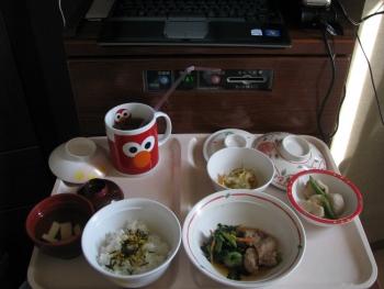 11/27 昼食「鶏の照り煮」