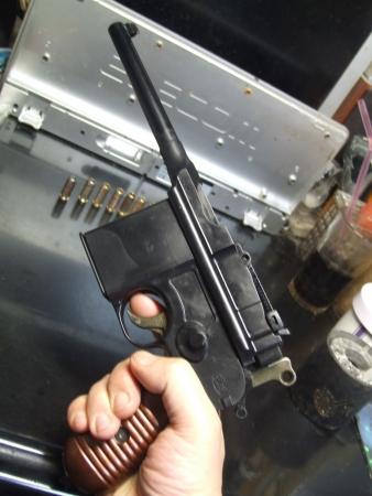 マウザーC96/M712② アジア人の小さな手でも持ちやすい