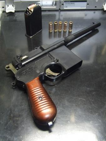マウザーC96/M712⑦ ボックスマガジン式給弾