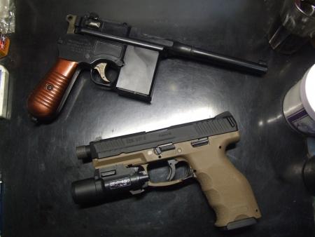 マウザーC96/M712&H&K VP-9タクティカル