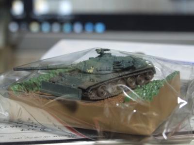 74式戦車(ドーザープレート付き)