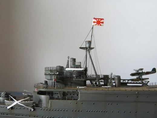 大鯨艦橋側面