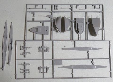 U-boatⅨC型プラ
