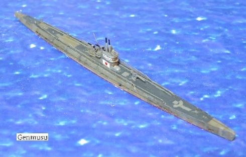 呂号第500潜水艦右舷