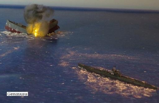 さつきの商船破壊