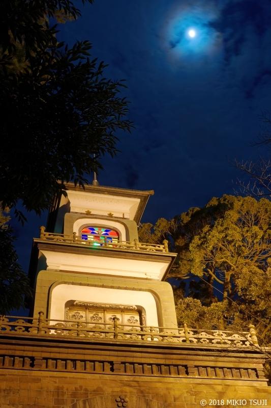 絶景探しの旅 - 0456 おぼろ月と加賀百万石 尾山神社(石川県 金沢市)