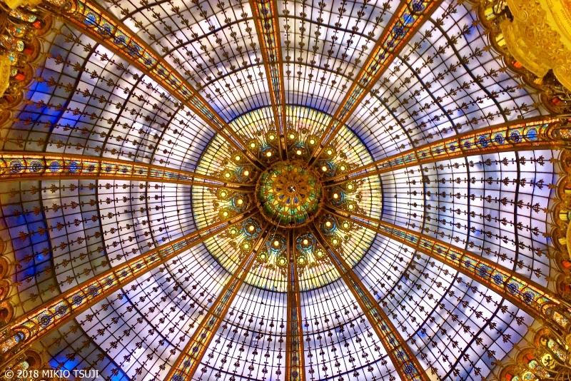 絶景探しの旅 - 0469 100年の歴史 ギャラリー・ラファイエットのクーポール (フランス パリ)