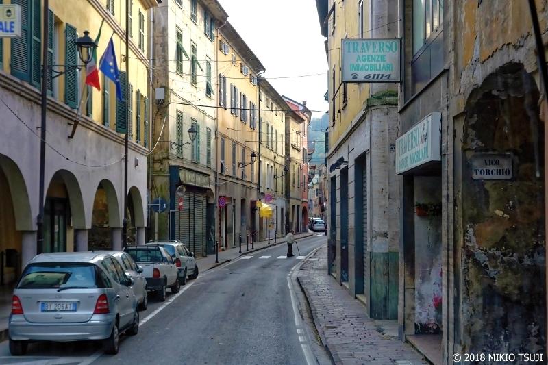 絶景探しの旅 - 0465 閑散としたイタリアの田舎町 (セッラヴァッレ・スクリーヴィア/イタリア アレッサンドリア)