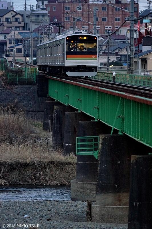絶景探しの旅 0490 東京ローカル・八高線 お疲れ様を乗せて ( 東京都 八王子市)